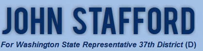 John Stafford for Washington State Representative 37th District